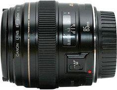 Canon EF 85mm F1.8 USM Autofocus Camera Lens