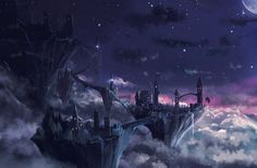 City in the sky by Sylar113 on deviantART
