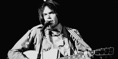 Neil Young Releasing Lost 1976 Album Hitchhiker, Shares Title Track: L Neil Young, Music Icon, My Music, New Music Releases, Kids Sleep, Album, Black And White Photography, In This Moment, Portrait