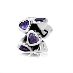 Sterling Silver Hearts Bead Charm with Purple Cz ARG http://www.amazon.com/dp/B005D7NOUS/ref=cm_sw_r_pi_dp_mo-xwb12JXYHG
