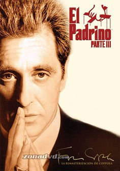 The Godfather Part III (Coppola Restoration) (dvd_video) - Classic movies Godfather Quotes, Godfather Movie, Badass Movie, 3 Movie, Mafia, The Godfather Wallpaper, The Godfather Part Iii, Dramas, Gangster Films