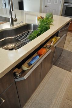Captivating Unique Kitchen Design That Mimics Swiss Army Knife System   Shaping  Silestone   Interior Design   Pinterest   Knives, Swiss Army And Kitchen  Designs Good Looking