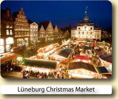 Lüneburg Christmas Market, a German tradition.