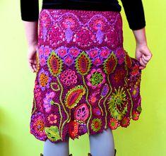Ravelry: Mirtooli's Magic Garden Skirt