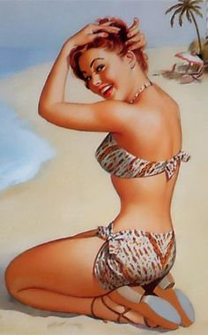 Article - history of pin-up art