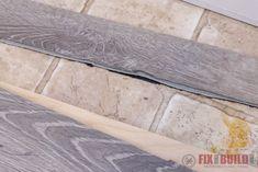 Installing Vinyl Plank Flooring – How To cutting vinyl plank flooring badly Installing Vinyl Plank Flooring, Aquaguard Flooring, Vinyl Sheet Flooring, Linoleum Flooring, Removing Baseboards, Transition Flooring, Playground Flooring, Painting Tile Floors, Floating Floor