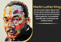 Accaddeoggi - 1929 Nasce Martin Luther King, un uomo di pace.                      artista: Derek Russel.