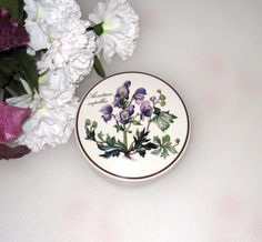 Villeroy and Boch Botanical Covered Trinket Dish by CookieGrandma60, $24.97