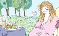 Náuseas y vómitos en el embarazo. Recomendaciones dietéticas