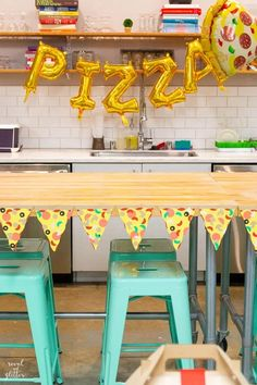 10 Party Trends for 2020 - Revel and Glitter - Gender neutral party themes Adult Party Themes, Gender Neutral, Color Schemes, Trends, Glitter, Furniture, Parties, Birthday Banners, Party Ideas