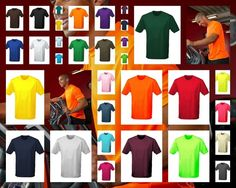 JUST HOODS COOL T T-SHIRT FUNKTIONSSHIRT SHIRT HEMD HERREN ELECTRIC NEON JC001 in Kleidung & Accessoires, Herrenmode, T-Shirts | eBay!
