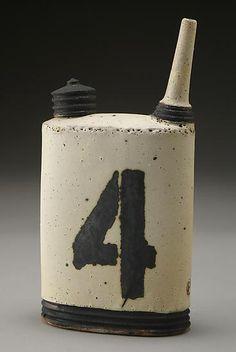 Oil Can No. 4: Nathan Falter: Ceramic Bottle - Artful Home