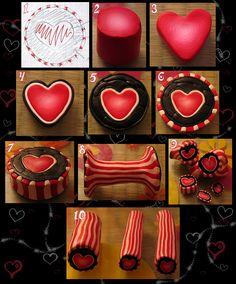 Heart Cane tutorial