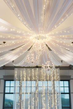ceiling decor Noah's event venue Omaha Nebraska wedding venue