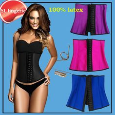 Waist Training Corsets Sport Latex Waist Cincher