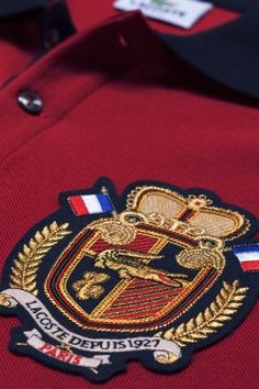 Lacoste Polo With Crest