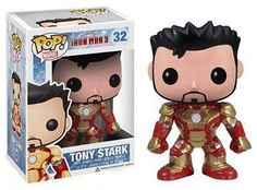 """Toys: It appears SDCC attendees will be able to pick up an exclusive """"unmasked"""" Iron Man Mark 42 Funko POP! Vinyl figure. [ToysREvil]"""