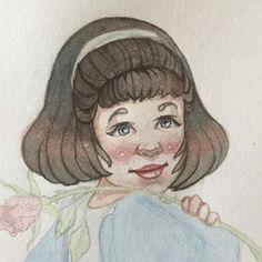Face done! #watercolorpainting #watercolor #kidlitart #sketch #sketchbook #sketchoftheday #kidlitart2017 #pencil #figuredrawing #conceptart #conceptartist #pencildrawing #comic #comicbook #comicbookart #portraitart #portraitartist #pencilportrait #portrait