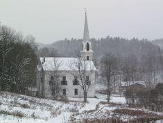 A SIMPLE FARMHOUSE WHITE CHRISTMAS TOUR - Kingsbury Brook Farm