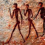 more petroglyphs/ Bushmen of Namibia