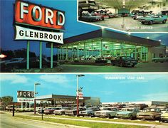 Glenbrook Ford, Glenview, Illinois, 1968 | Flickr - Photo Sharing!