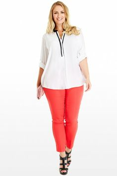 Lily Contrast Henley