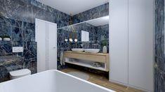 Flint Blue 120x60 R HG BA - KACHLIČKOVO - Obklady a dlažby Bathtub, Bathroom, Blue, Standing Bath, Washroom, Bathtubs, Bath Tube, Full Bath, Bath