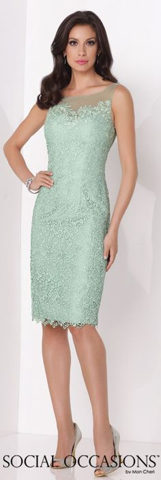 Social Occasions by Mon Cheri Spring 2015 - Style No. 115868 socialoccasionsbymoncheri.com #eveningdresses #motherofthebridedresses