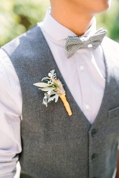 Grey vests, gold boutonnieres with feathers and greenery Sonoma wedding Hanna + Kenny Wedding Photo By Elena Graham Photography Mother Of The Bride Flowers, Father Of The Bride, Sonoma Wineries, Glorious Days, May Weddings, Grey Vest, Party Entertainment, Boutonnieres, Maid Of Honor