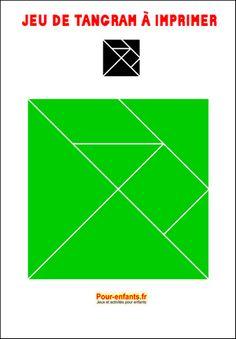 Jeu de tangram à imprimer gratuit tangram imprimable gratuitement