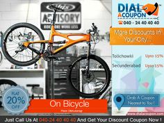 Make You Kid Happy By Gifting Him A Cycle. Get A Range Of Bicycles That Are Both Stylish And Safe. Call Dial A Coupon @ 040 24 40 40 40 And Get Your Discount Coupon.   For More Discount Deals Please Visit: www.DialACoupon.com