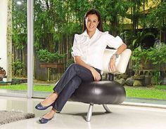 mikee cojuangco-jaworski- i like her sportmanship, attitude, and simplicity.