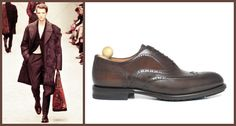 Men's leather shoes for autumn