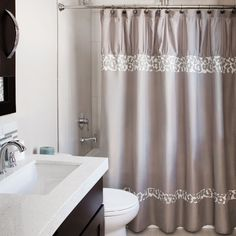 Andrew Charles Snow Leopard Collection and White 72-inch Shower Curtain
