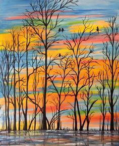 Join us for a Paint Nite event Thu Feb 2016 at 601 Baltimore Pike Bel Air, MD. Purchase your tickets online to reserve a fun night out! Simple Acrylic Paintings, Acrylic Art, Paint Party, Painting Inspiration, Art Lessons, Painting & Drawing, Watercolor Paintings, Mandala, Canvas Art