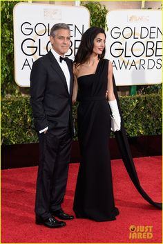 George and Amal / 2015 Golden Globes