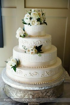 Classic Wedding Cakes Wedding Cakes Photos on WeddingWire