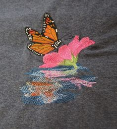 Holly Pictures, Embroidery Thread, Picture Show, Reflection, Butterfly, Clothes For Women, Sweet, Women's Clothing, Cotton
