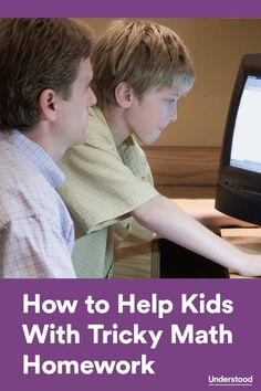 Tips to help kids with tricky math homework