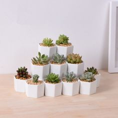 Planters by MarukoCoco on Etsy