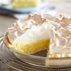 Gluten Free* Lemon Meringue Pie