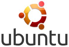 Ubuntu Logo Mark and WordMark Vertical