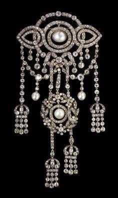 beautyblingjewelry: A Belle Epoque Silve beauty bling jewelry fashion