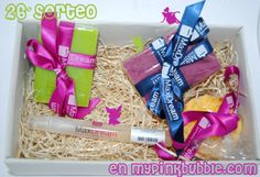 My Pinkbubble - Blog de Belleza - Beauty blog: 26 Sorteo Cesta de Productos