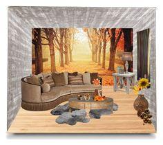 """autumn"" by natriashvili-ana ❤ liked on Polyvore featuring interior, interiors, interior design, home, home decor, interior decorating, Suki Cheema, Universal Lighting and Decor, UGG Australia and EASTON"