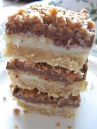 Toffee Chocolate Bars - One of the best desserts ever!! they are simply amazing and so easy to make