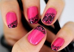 lace on nail