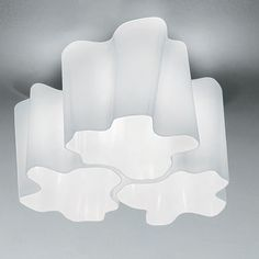Logico Triple Nested Ceiling Light by Artemide - Opad.com