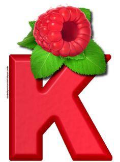 Alphabet, Raspberry, Berries, Symbols, Fruit, Outdoor Decor, Bingo, Letter Board, Greek Alphabet