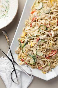 Chicken Pesto Pasta   Cooking with Paula Deen